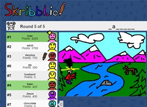 Photo of Skribbl.io Drawing Game