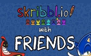 how to play skribbl.io with friends