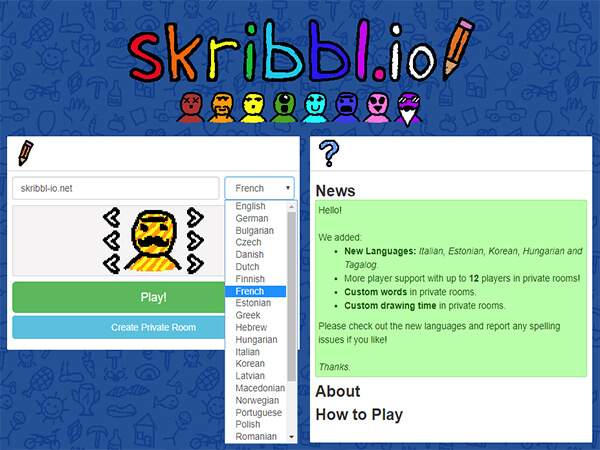 skribbl.io french