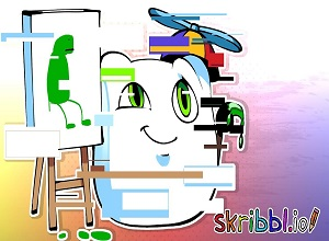 skribbl.io drawing tablet