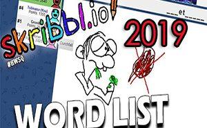 skribblio word list 2019